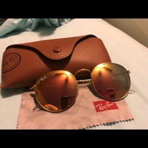 Ray ban round metal sunglasses